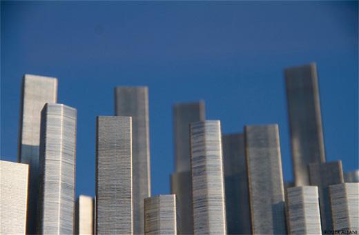 En stad av häftklamrar