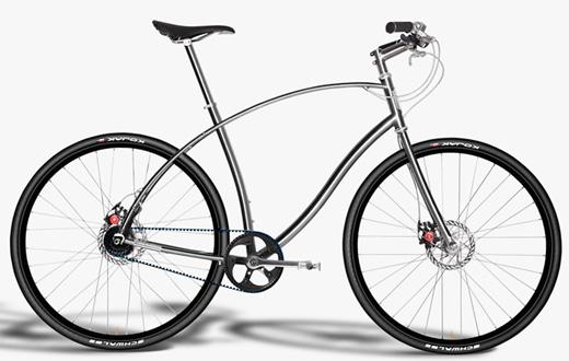 Förbannat snygg cykel