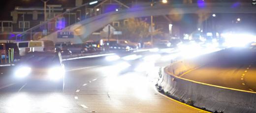 Vackra Los Angeles på natten!