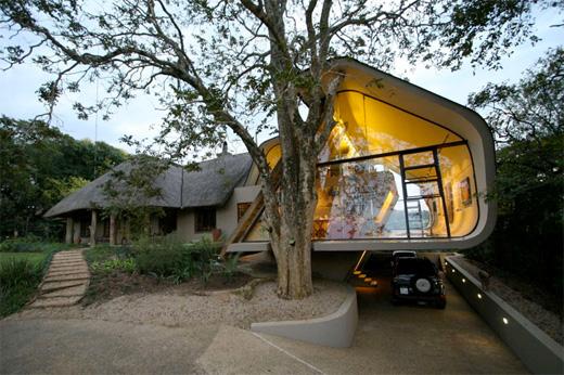 Vackert hus i Sydafrika