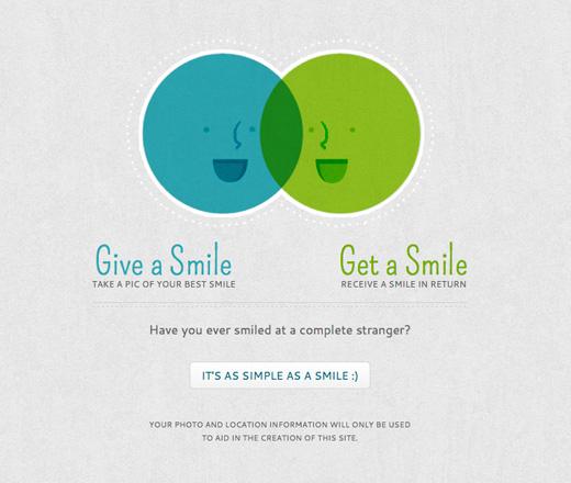 Ge bort ett leende