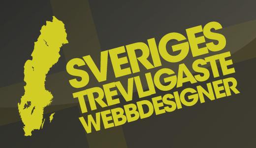 Sveriges trevligaste webbdesigner