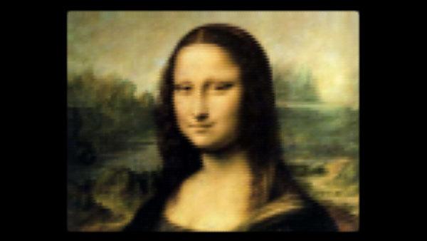 Mona Lisa helt i CSS
