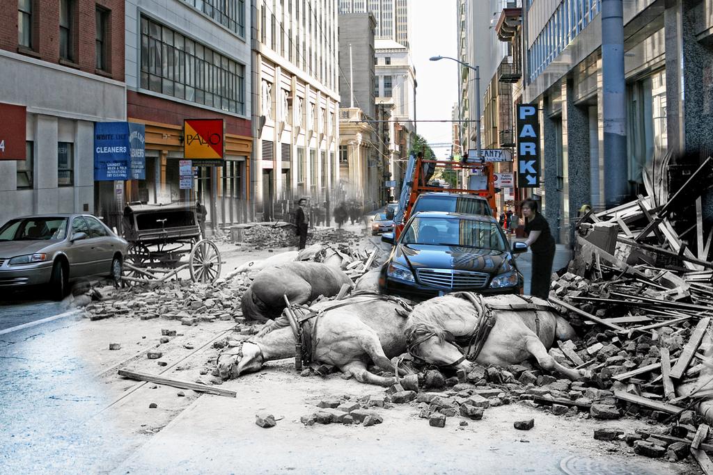 Jordbävningen 1906 och nu