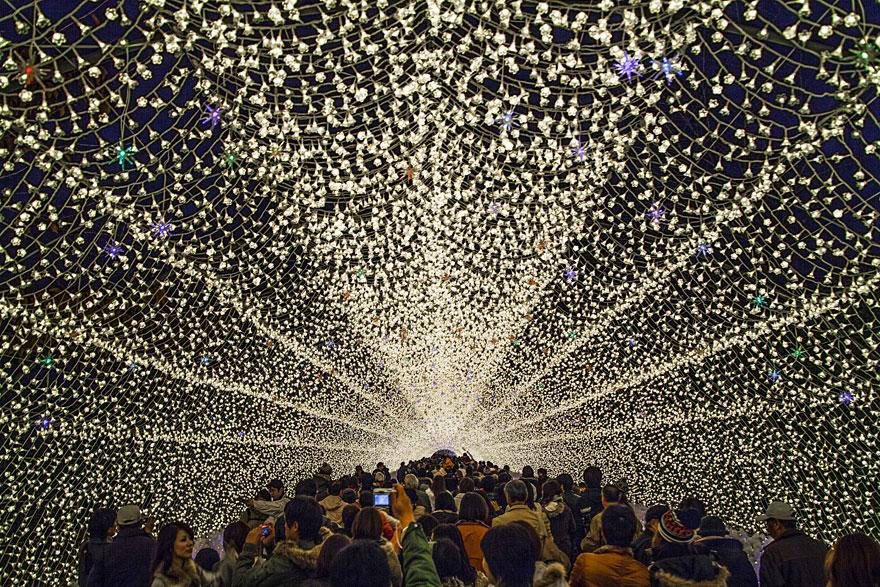 Världens häftigaste ljusshow